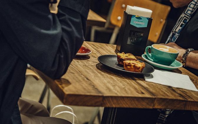 A cafe.