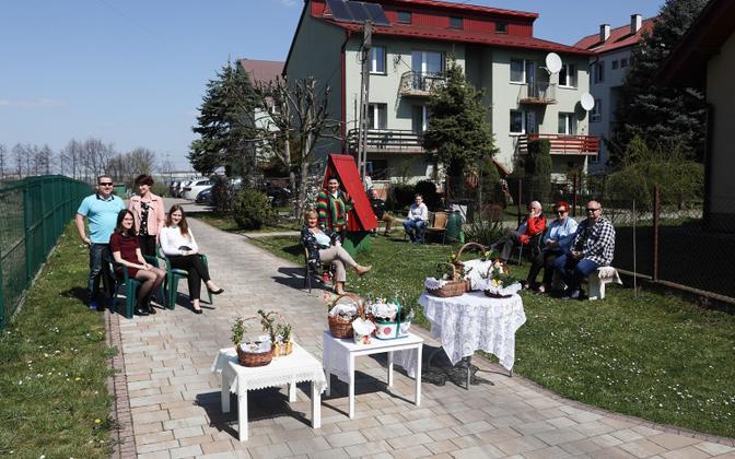 Ülestõusmispühade tähistamine Poolas.