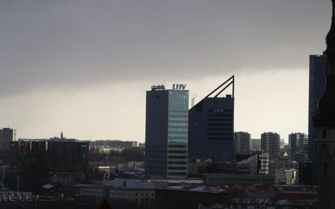 Деловой центр Таллинна. Иллюстративная фотография.