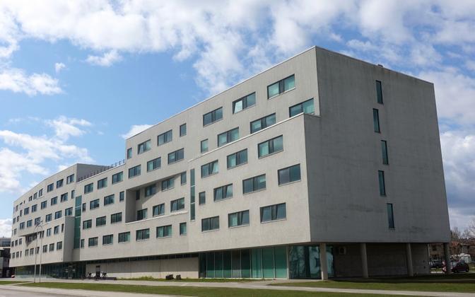 The University of Tartu dorm on Raatuse street.