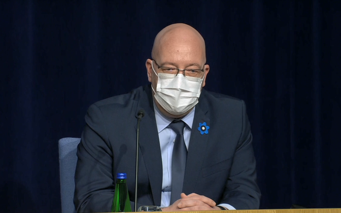 Minister of Rural Affairs Arvo Aller.
