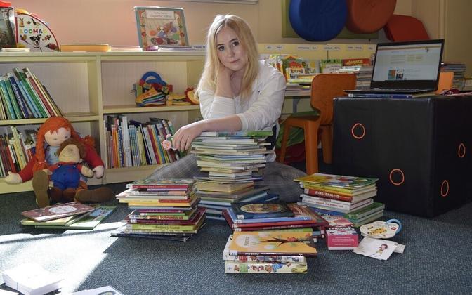 Tallinna keskraamatukogu kutsub lapsi veebisilla kaudu külla
