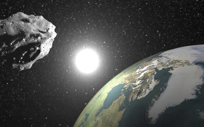 Астероид. Иллюстративная фотография