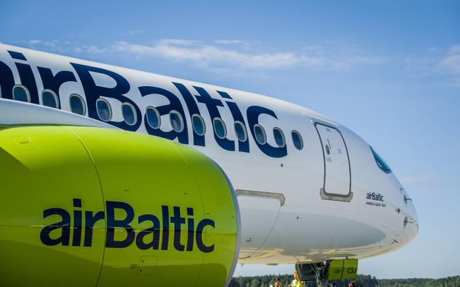 AirBaltic suspended all flights from March 17.