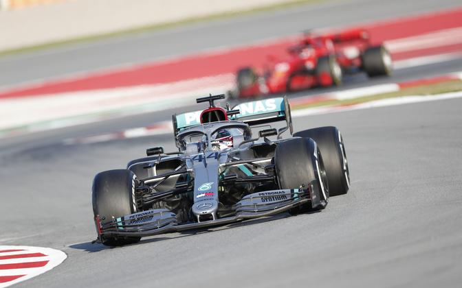 Lewis Hamilton Barcelona GP-l