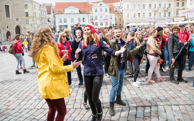 Noored Tallinna vanalinnas