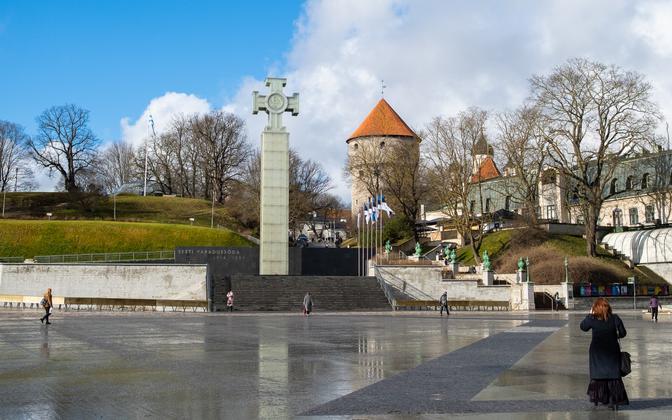 Vabaduse väljak Tallinnas.
