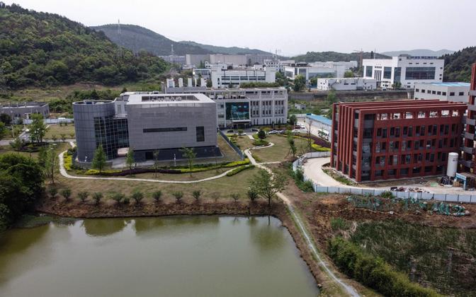 Wuhani labor, mille kõige salajasemad uuringud toimuvad vasakpoolses hoones.