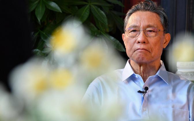 Hiina riikliku koroonakomisjoni juht Zhong Nanshan.