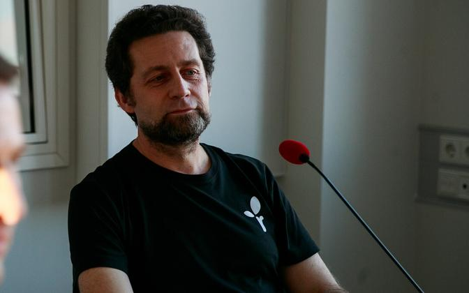 Aleksander Laane (Greens).