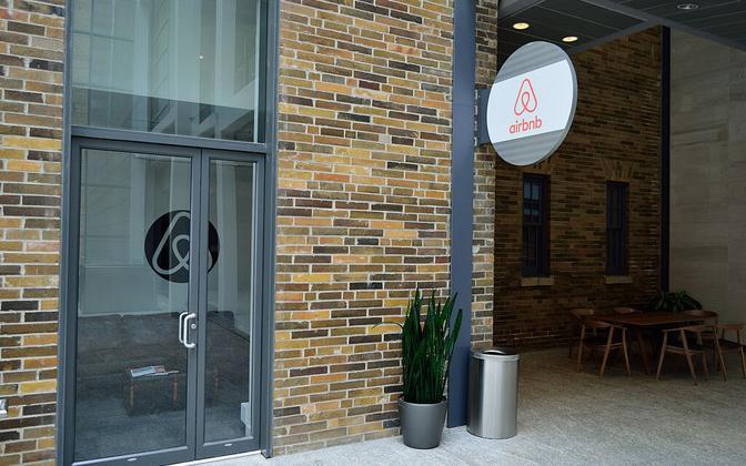 Airbnb Logo.