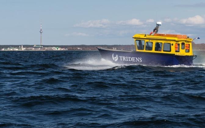 The sea taxi Gundel.