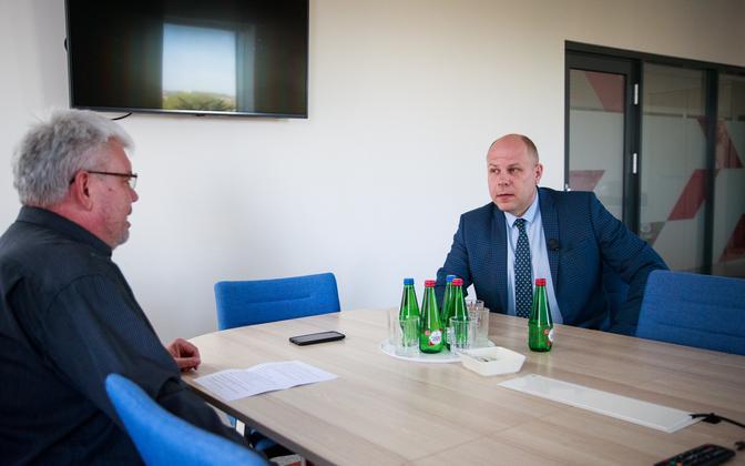 Toomas Sildami intervjuu Raul Siemiga.