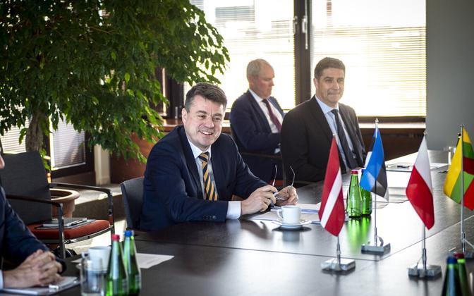 Urmas Reinsalu Balti ja Poola välisministrite kohtumisel Tallinnas