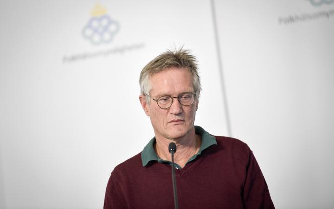 Rootsi peaepidemioloog Anders Tegnell.