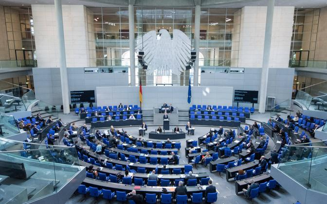 Заседание бундестага. Иллюстративная фотография.