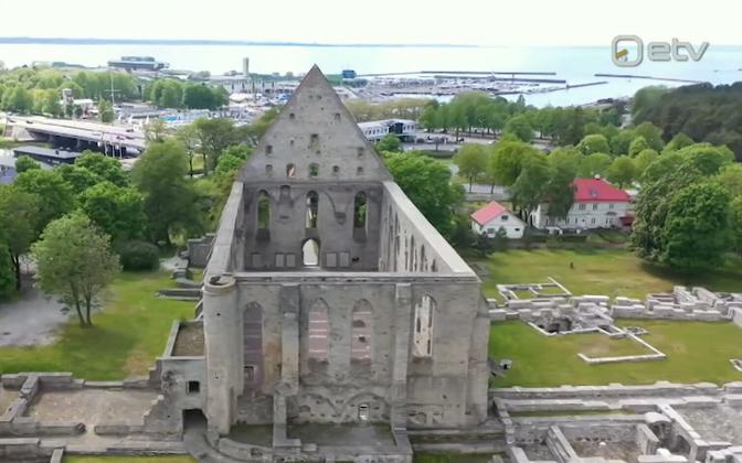 The ruins of Pirita Convent in Tallinn.