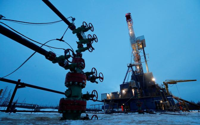 Naftapuurtorn Venemaa Kaug-Põhjas.
