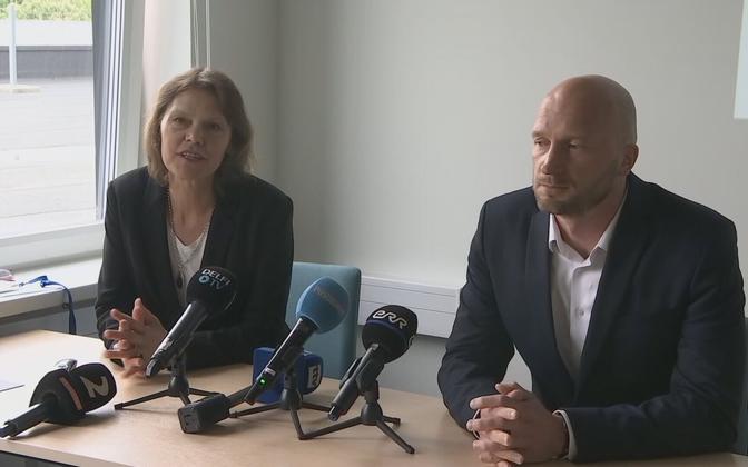 Merike Jürilo and Martin Kadai.