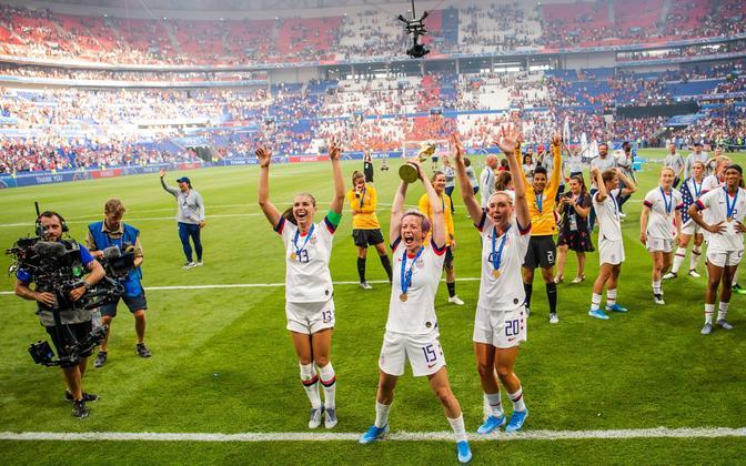 2019. aastal toimunud naiste jalgpalli MM-turniiri võitis USA naiskond