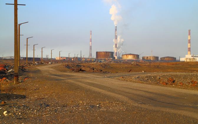 Suure reostuse põhjustanud Norilski soosjuselektrijaam.