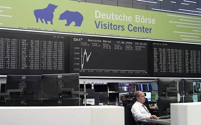 Немецкая биржа.