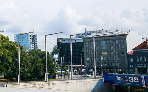 The Palace Hotel in Tallinn.