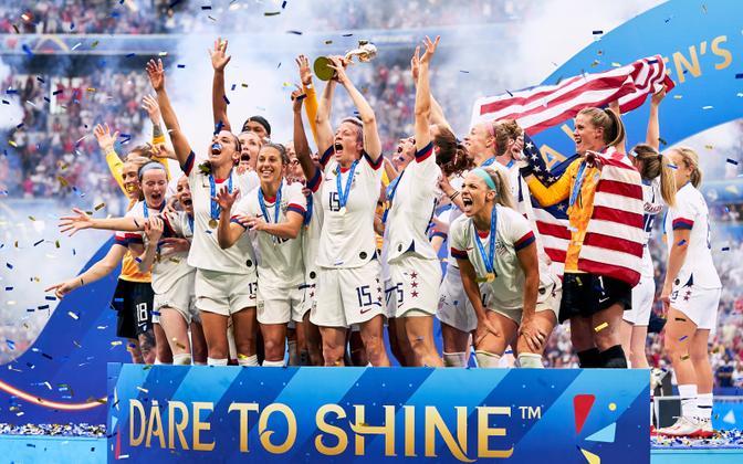 Prantsusmaal toimunud naiste jalgpalli MM-i võitis USA