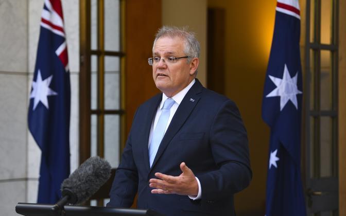 Austraalia peaminister Scott Morrison