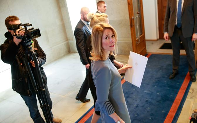 Reform Party leader Kaja Kallas.