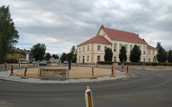 The town center of Antsla