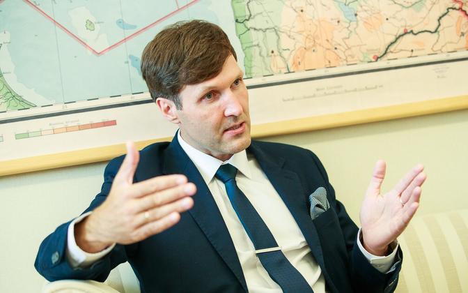 Finance Director Martin Helme (EKRE).