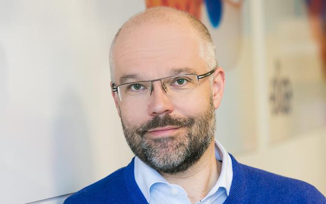 Elisa Estonia CEO Sami Seppänen,