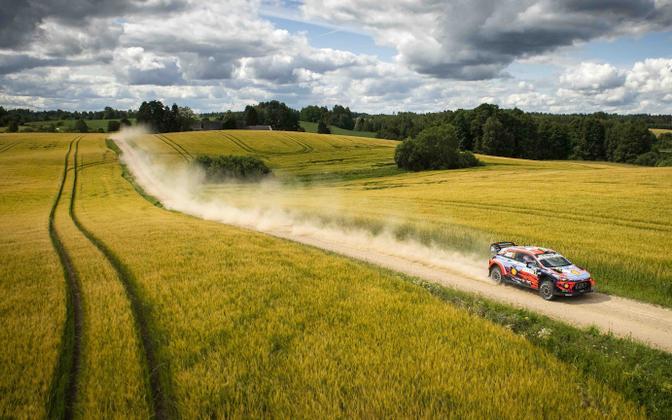 Hyundai mullusel Rally Estonial