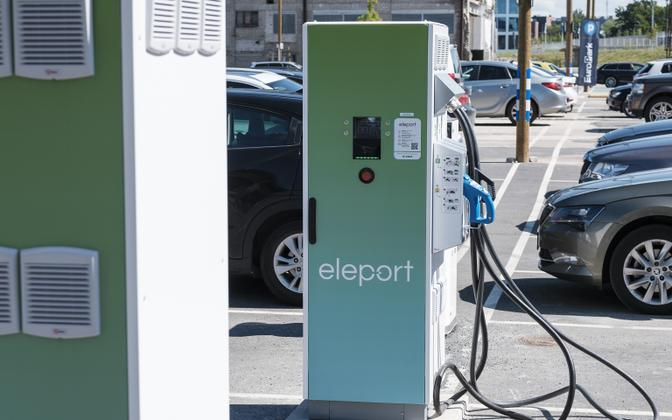 Electric car chargers.