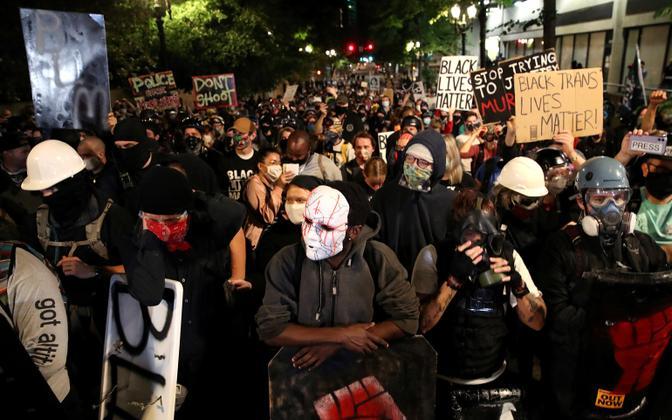 Protestijad Portlandis.