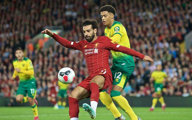 Mohamed Salah ja Jamal Lewis