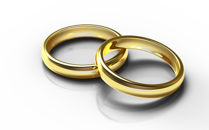 Золотые кольца. Иллюстративное фото.