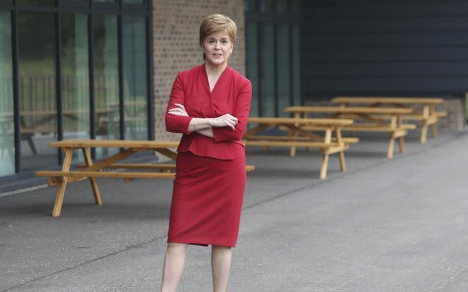 Šotimaa esimene minister Nicola Sturgeon.