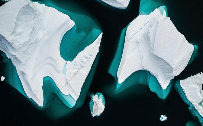 Arktika jää on ohustatud.