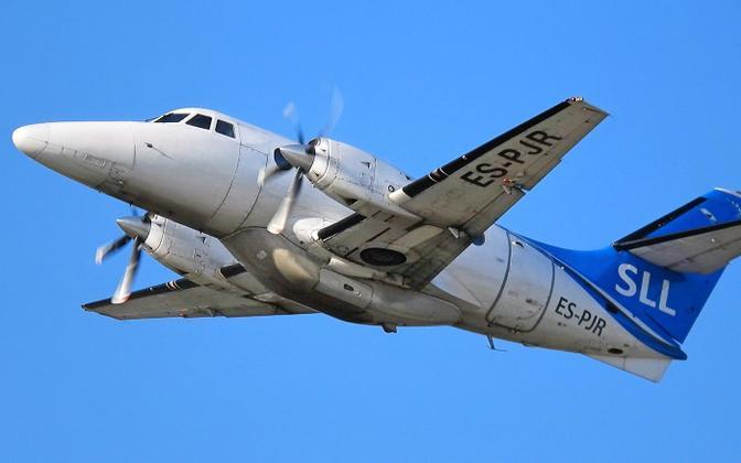 A Jetstream 32 operated by Transviabaltika.