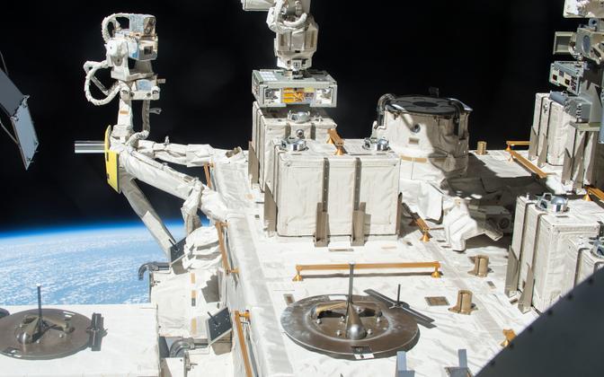 Mikroobid jäeti rahvusvahelises kosmosejaamas aastateks jaapanlaste mooduli pinnale.