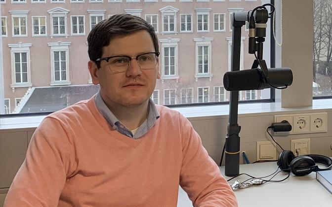Former Postimees editor-in-chief Peeter Helme.