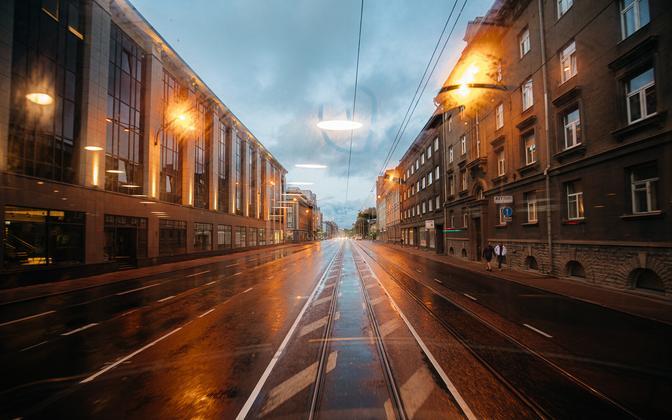 Из 65 тысяч ламп в Таллинне были заменены только 17 тысяч.