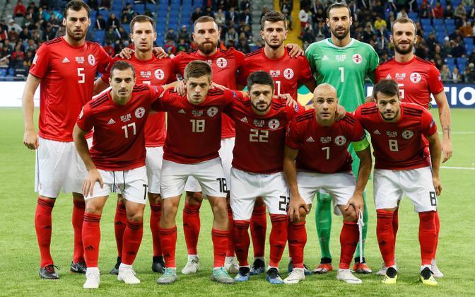 Gruusia jalgpallikoondis