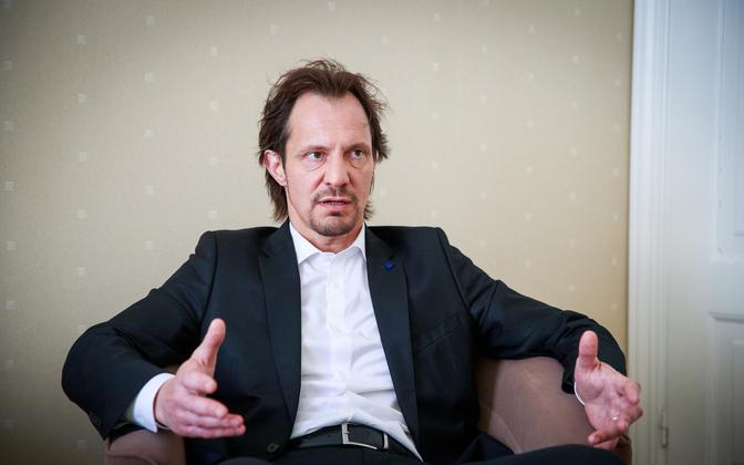 Social Democratic Party chair Indrek Saar.