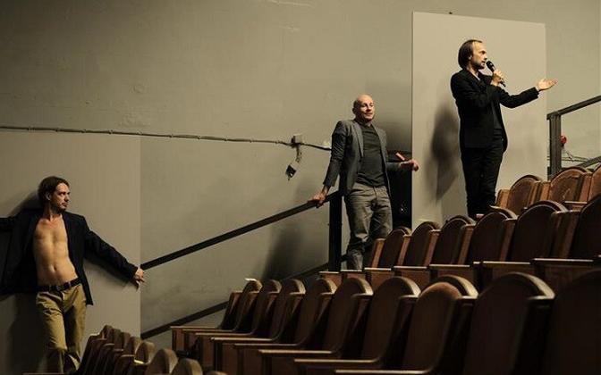 Juhan Ulfsak, Mart Kangro, Eero Epner lavastuses