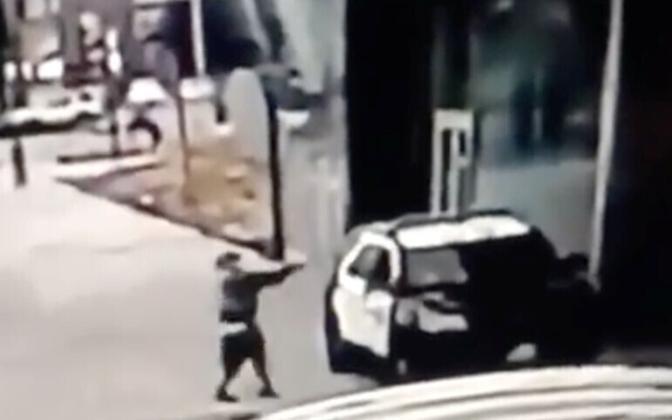 Los Angelese maakonna šerifi avaldatud kaader valvekaamera videost.