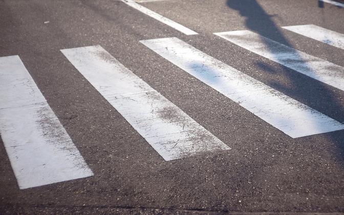 Пешеходный переход. Иллюстративная фотография.