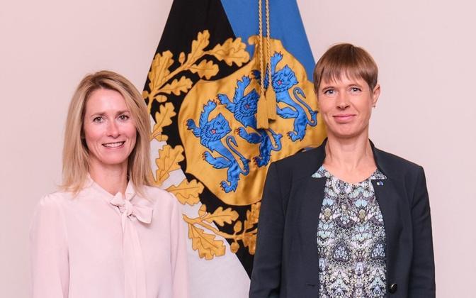 Kaja Kallas ja Kersti Kaljulaid